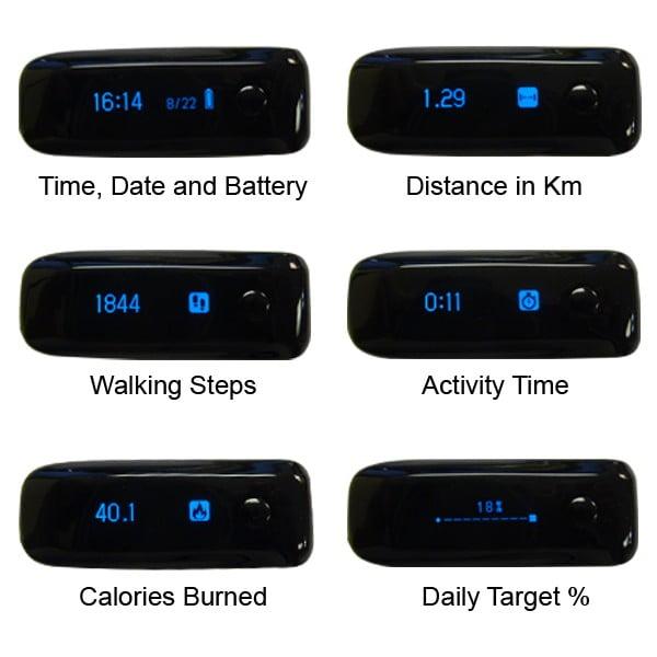 xnfit activity tracker pedometer uk quality fun gadgets gizmos