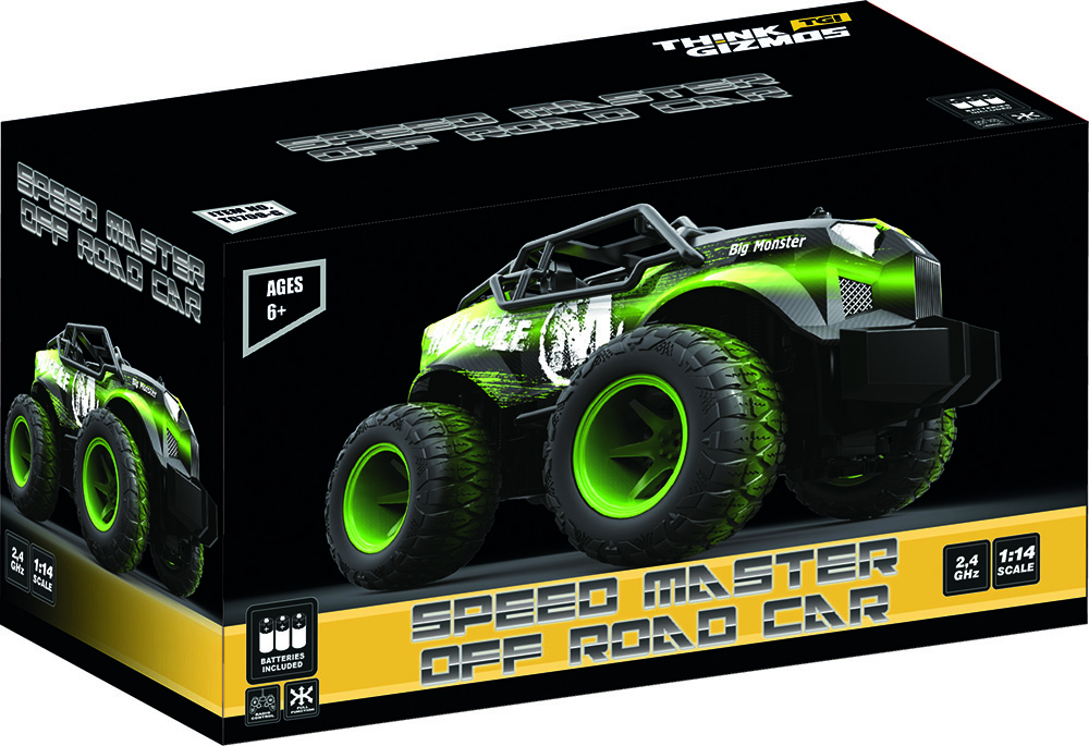 TG709-G Speed Master Off Road Remote Control Car